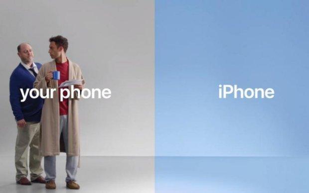 Apple тролить Android у новій рекламі iPhone