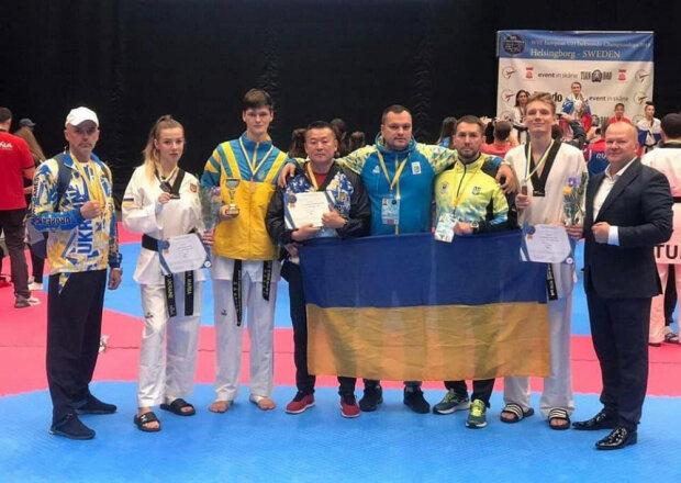 Українці завоювали чотири медалі на ЧЄ з тхеквондо