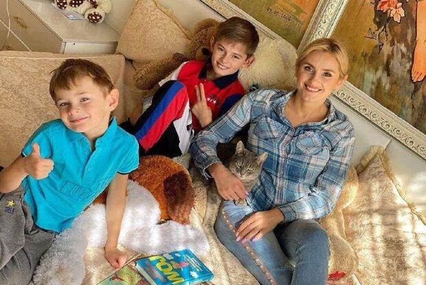 Ирина Федишин с детьми: Instagram irynafedyshyn