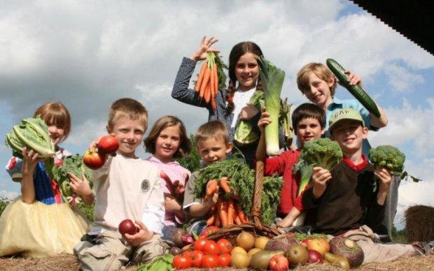 Доля дітей-вегетаріанців сколихнула країну
