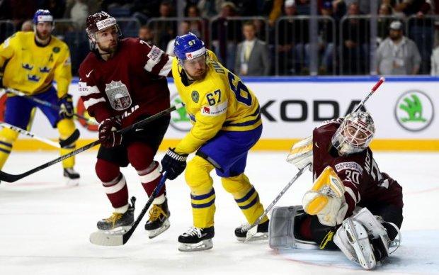 Швеція - Латвія 2:0 Відео найкращих моментів матчу ЧС-2017 з хокею