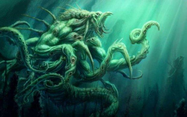 Морское чудовище из океанских глубин оказалось милым созданием