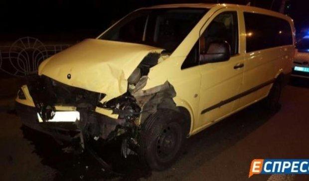 Авария в Киеве едва не лишила жизни пятерых