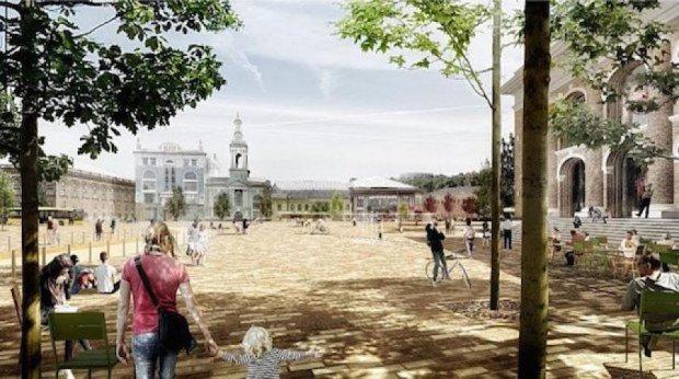 Показали лучший проект реконструкции Контрактовой площади