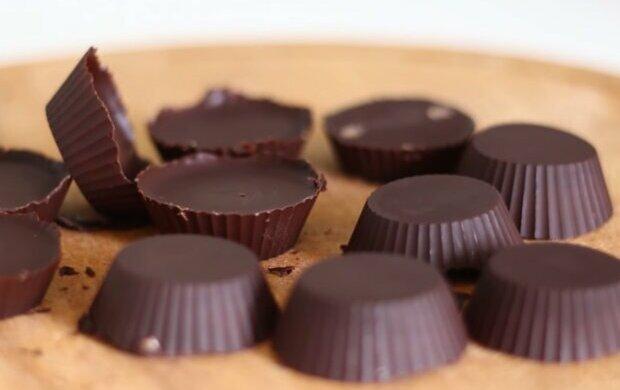 Шоколадні цукерки, фото скріншот з відео