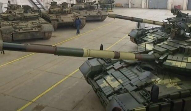 танковый завод, скриншот из видео