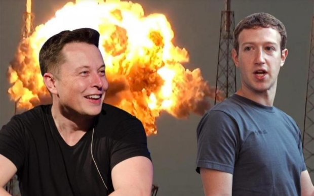 """Угроза человечеству: Маск и Цукерберг обменялись """"любезностями"""""""