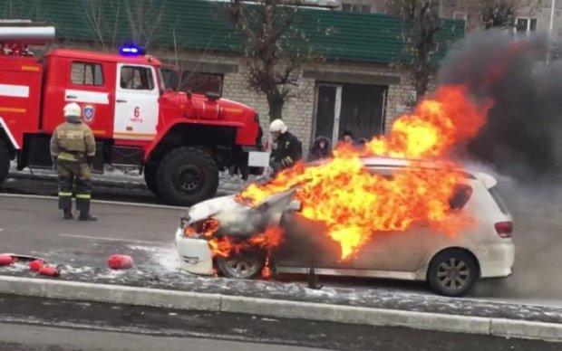 Смертельное ДТП: водитель сгорел вместе с авто