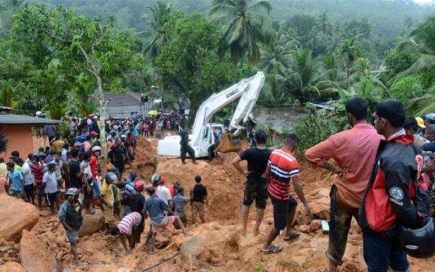 Повінь на Шрі-Ланці: лік жертв пішов на сотні