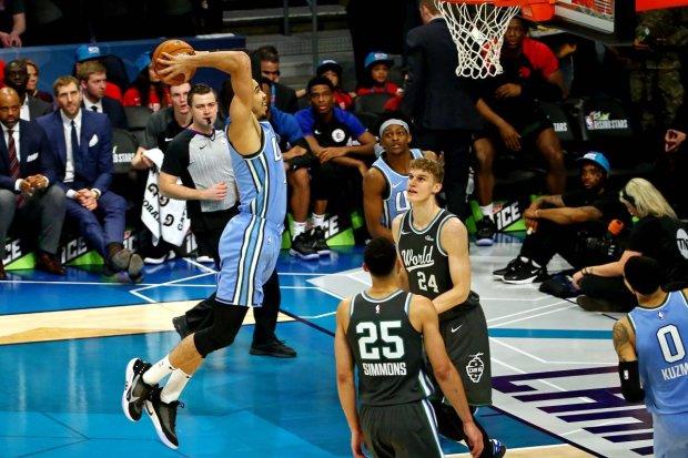 Баскетболисты НБА зажгли в Матче всех Звезд: видео