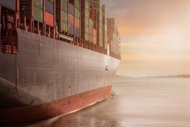 грузовое судно, фото Pxhere