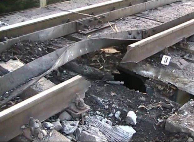 У Харкові підірвали залізницю