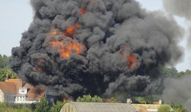 На авіашоу в Британії розбився літак, є постраждалі