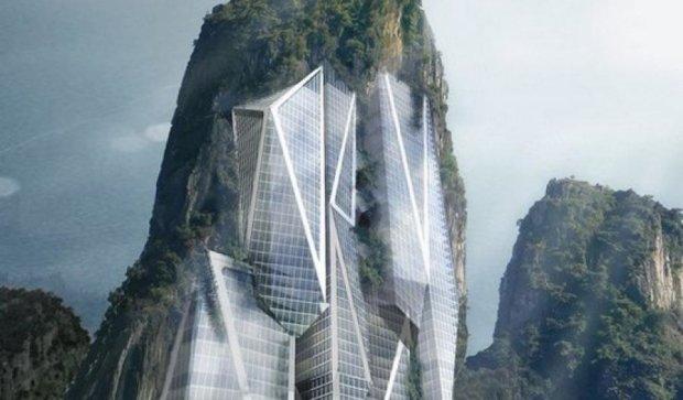 Малайзійські архітектори збираються будувати хмарочоси в скелях
