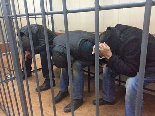 Показали арештованих  у справі Нємцова