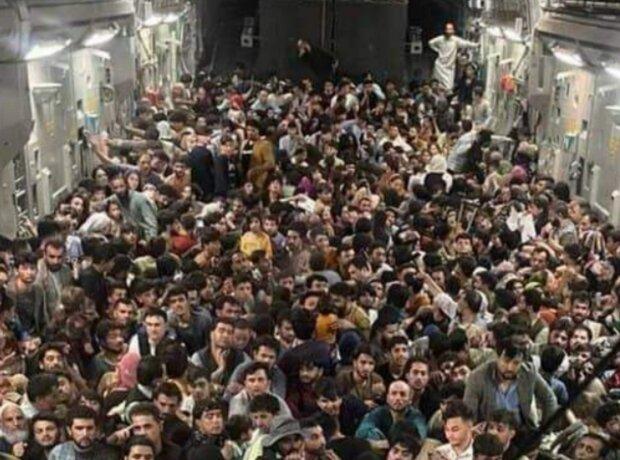 Евакуація з Кабула, фото: Marcus Weisgerber, Twitter