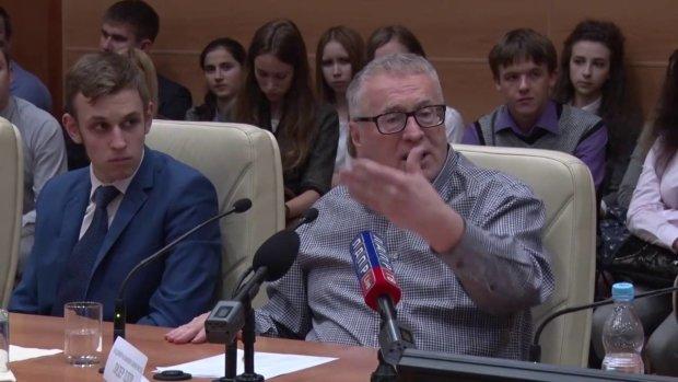 Юный любовник Жириновского пролез в Госдуму