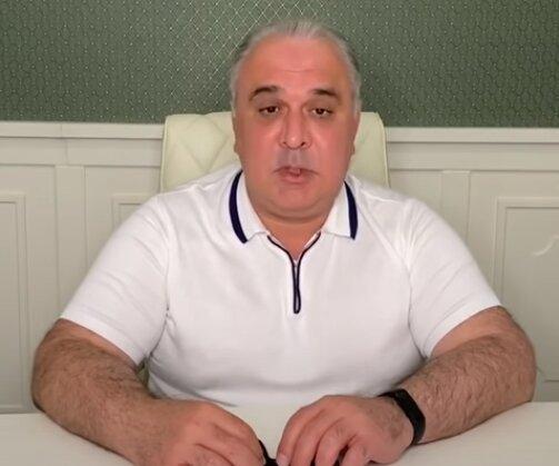 Давид Жвания, скрин с видео