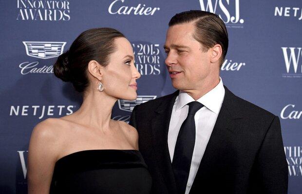 Анджеліна Джолі і Бред Пітт, фото GettyImages