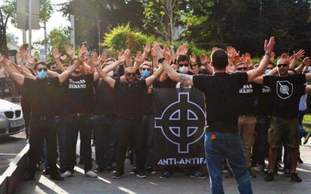 Грузинські фашисти побили противників на марші
