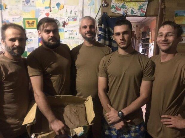 Андрей (второй справа),  Facebook Александра Ярового