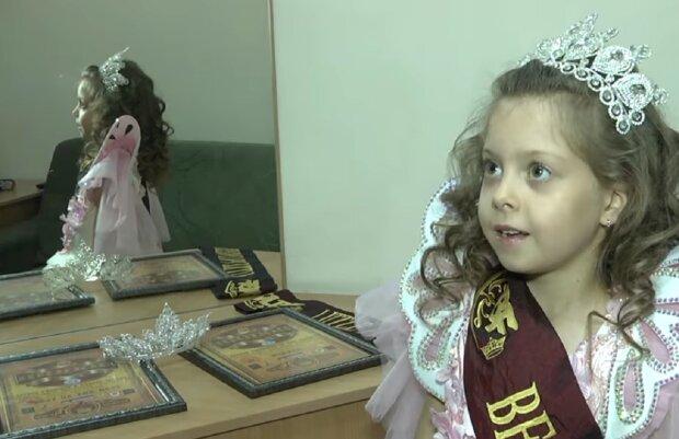 Самой красивой девочкой в мире стала 6-летняя украинка: настоящая принцесса, фото