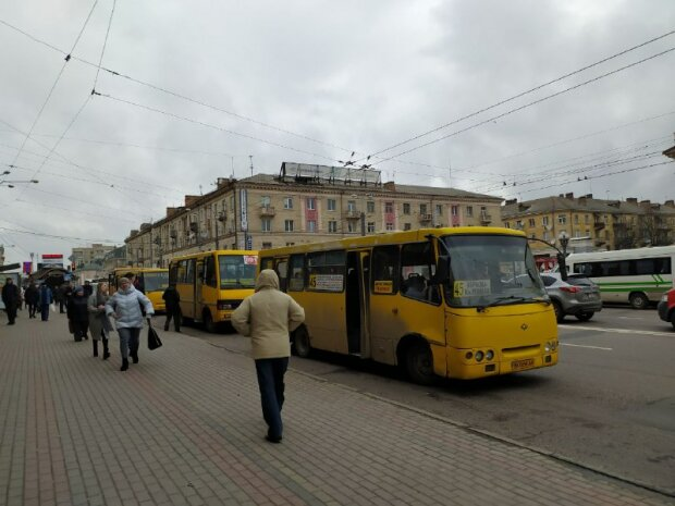 Общественный транспорт, фото - znaj.ua