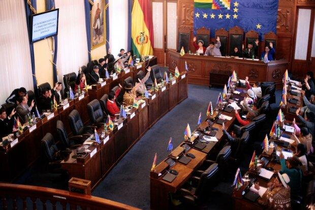 Сенат Боливии, фото: REUTERS