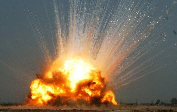 Взрывы боеприпасов