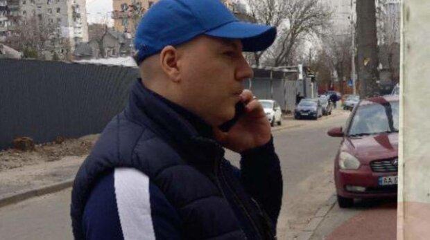 Мошенник Дмитрий Вовк, фото: Киев Оперативный