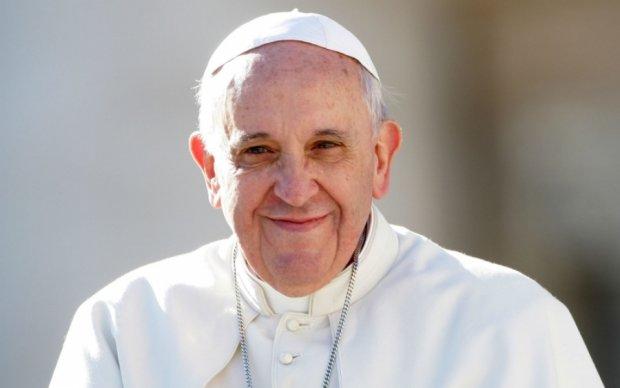 Папа Франциск благословил Украину и пожелал мира