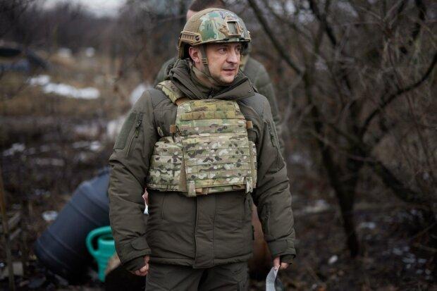 Зеленский во время рабочей поездки на Донбасс, фото: president.gov.ua