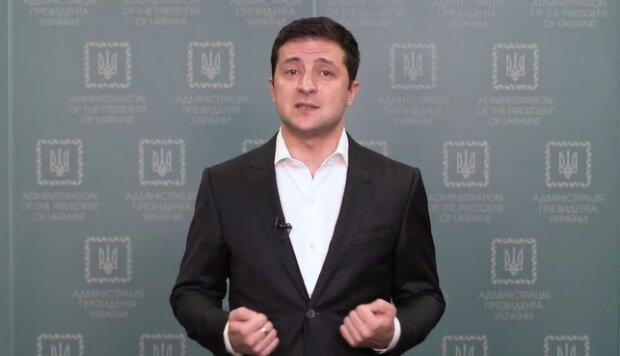Владимир Зеленский, скриншот: Обращение Президента