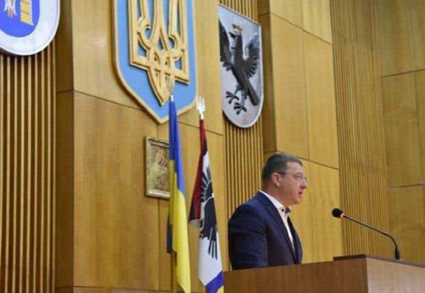 Заседание Ивано-Франковского областного совета, фото: ПИК
