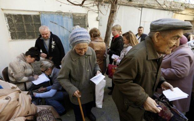 МВФ требует пожертвовать украинскими пенсионерами
