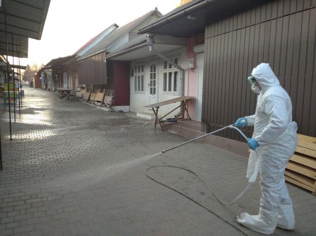 Коронавирус в Украине, фото ГСЧС
