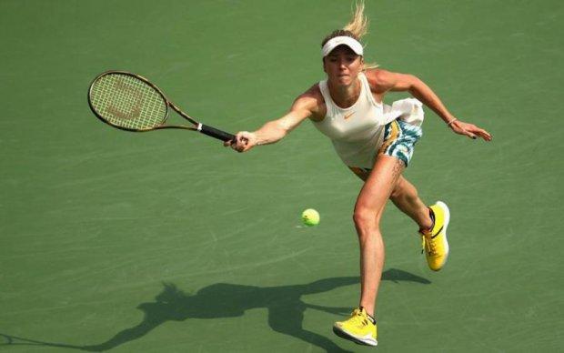 Свитолина одержала непростую победу на престижном турнире US Open