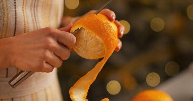 Апельсиновая кожура, фото из открытых источников