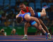 Жан Беленюк - чемпіон світу, український борець греко-римського стилю. Getty Images