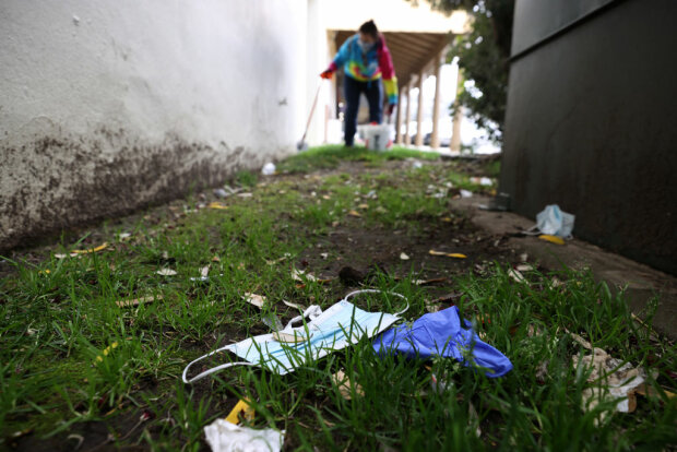 Сбор мусора, фото: Getty Images