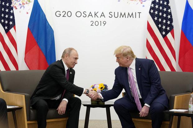 Про що Путін і Трамп перешіптувалися на зустрічі у Японії: сумний фінал для Донбасу