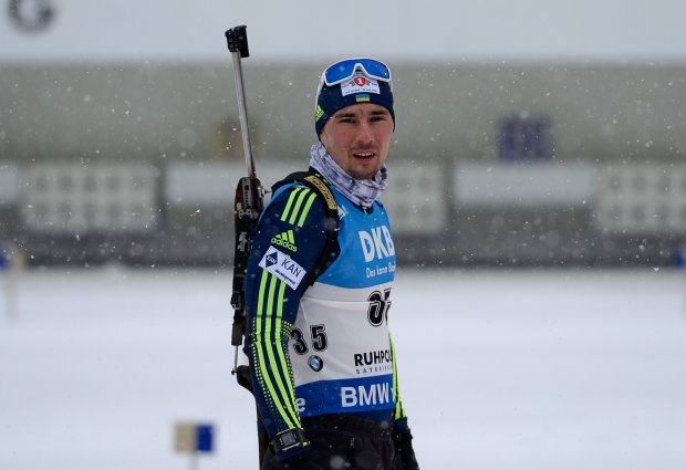 Українські біатлоністи втерли носа росіянам на гонці в Антерсельві