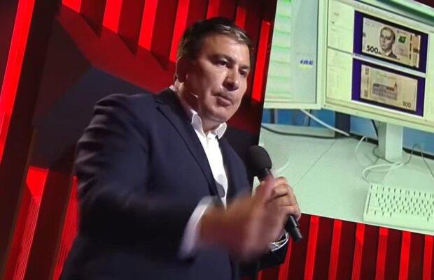 Саакашвили, скриншот с видео
