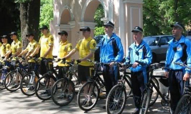 На патрулирование в Одессе выйдет конная милиция и велосипедисты