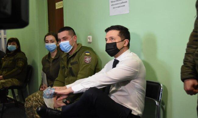 Владимир Зеленский, фото с Facebook