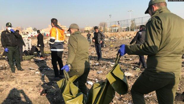 Авария самолета МАУ в Иране, фото: uazmi.net