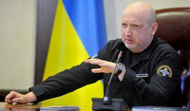 Турчинов показал новый военный ситуативный центр (ФОТО)