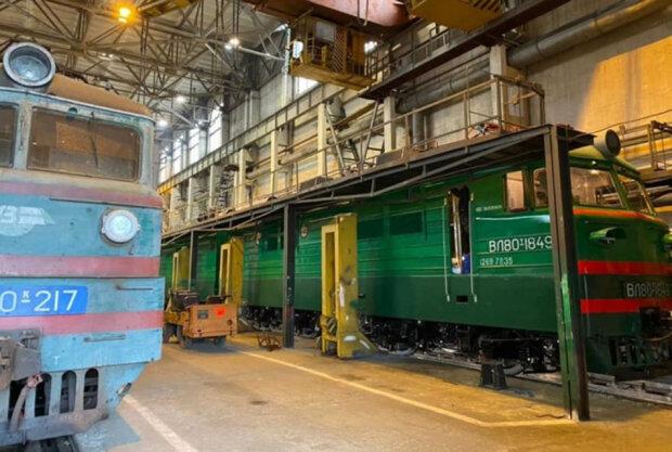 Львовский локомотиворемонтный завод, Укрзализныця \\ фото ЦТС