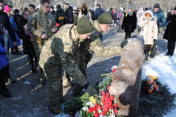 Річниця обстрілу Краматорська: Нацкорпус вшанував пам'ять загиблих