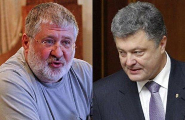 Порошенко доручив покарати Коломойського за нецензурну лайку
